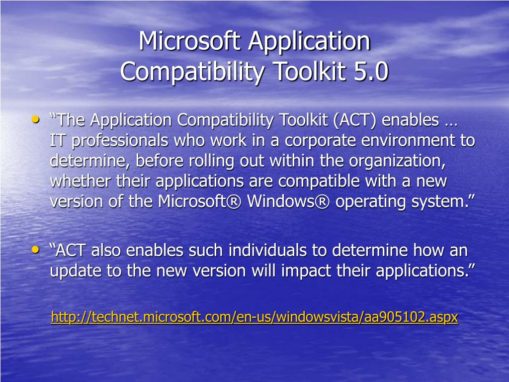 Microsoft Application