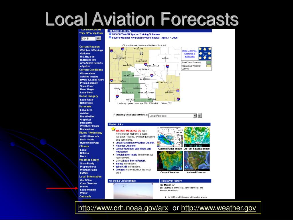 Local Aviation Forecasts