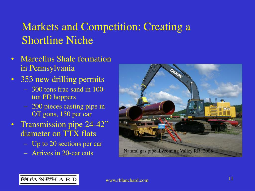 Markets and Competition: Creating a Shortline Niche
