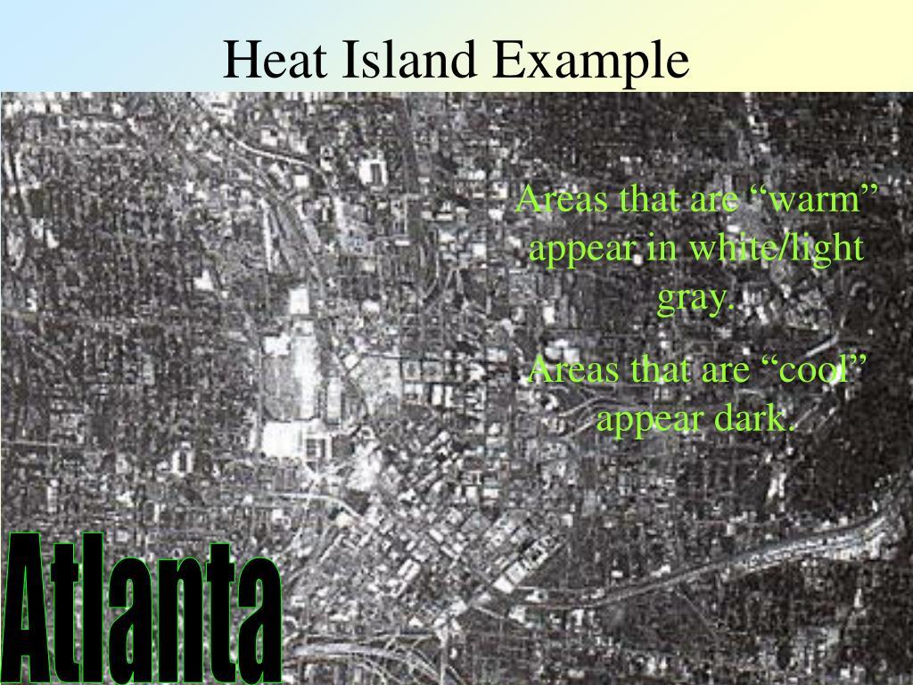 Heat Island Example
