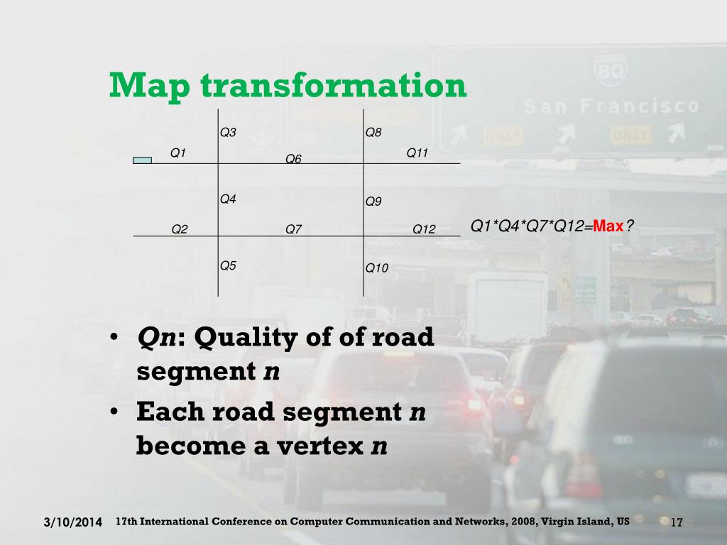 Map transformation