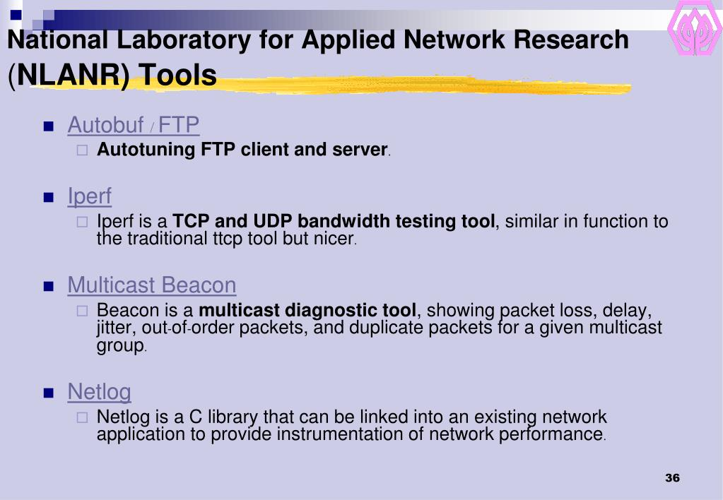 National Laboratory for Applied Network Research
