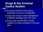 drugs the criminal justice system