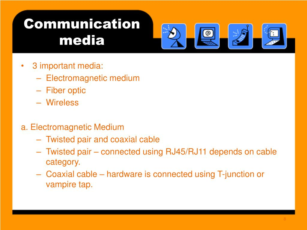 Communication media