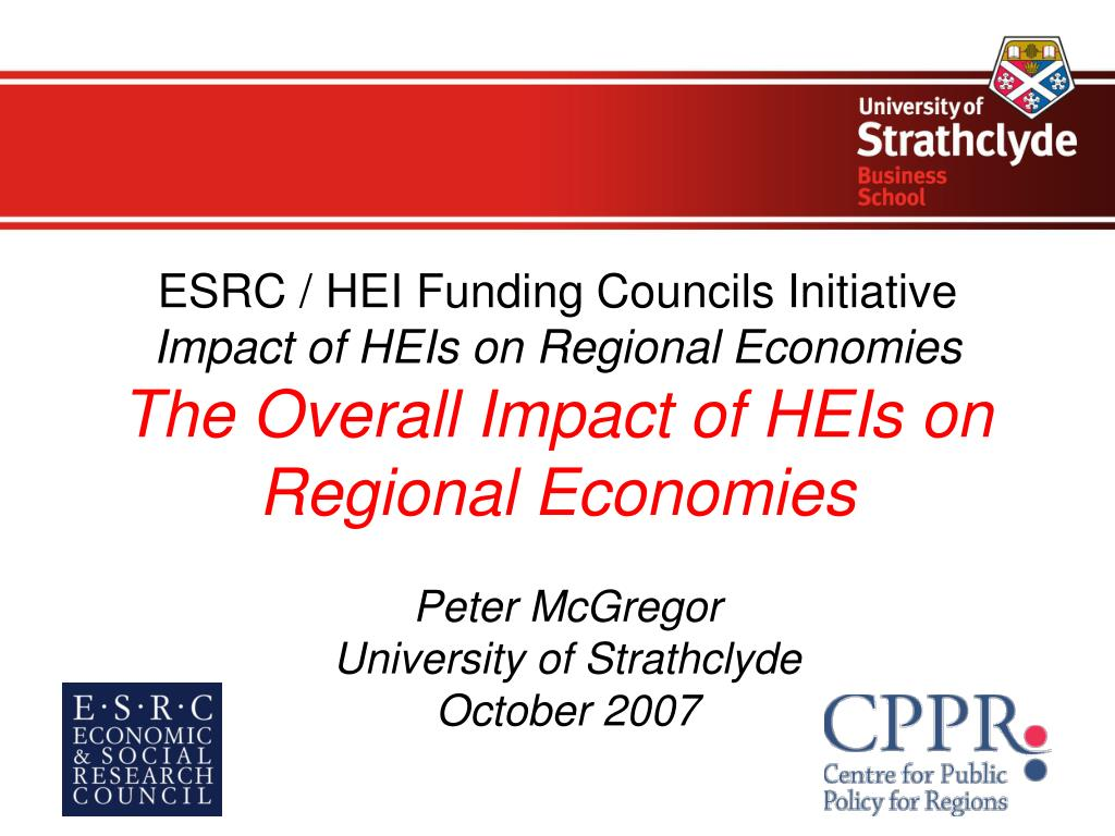 ESRC / HEI Funding Councils Initiative