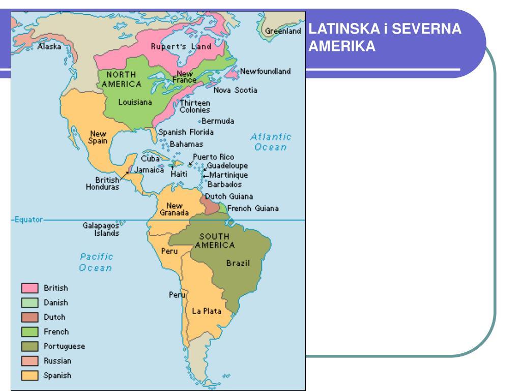 LATINSKA i SEVERNA
