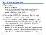in performance metrics