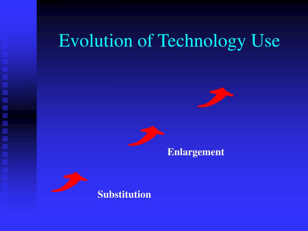 Evolution of Technology Use