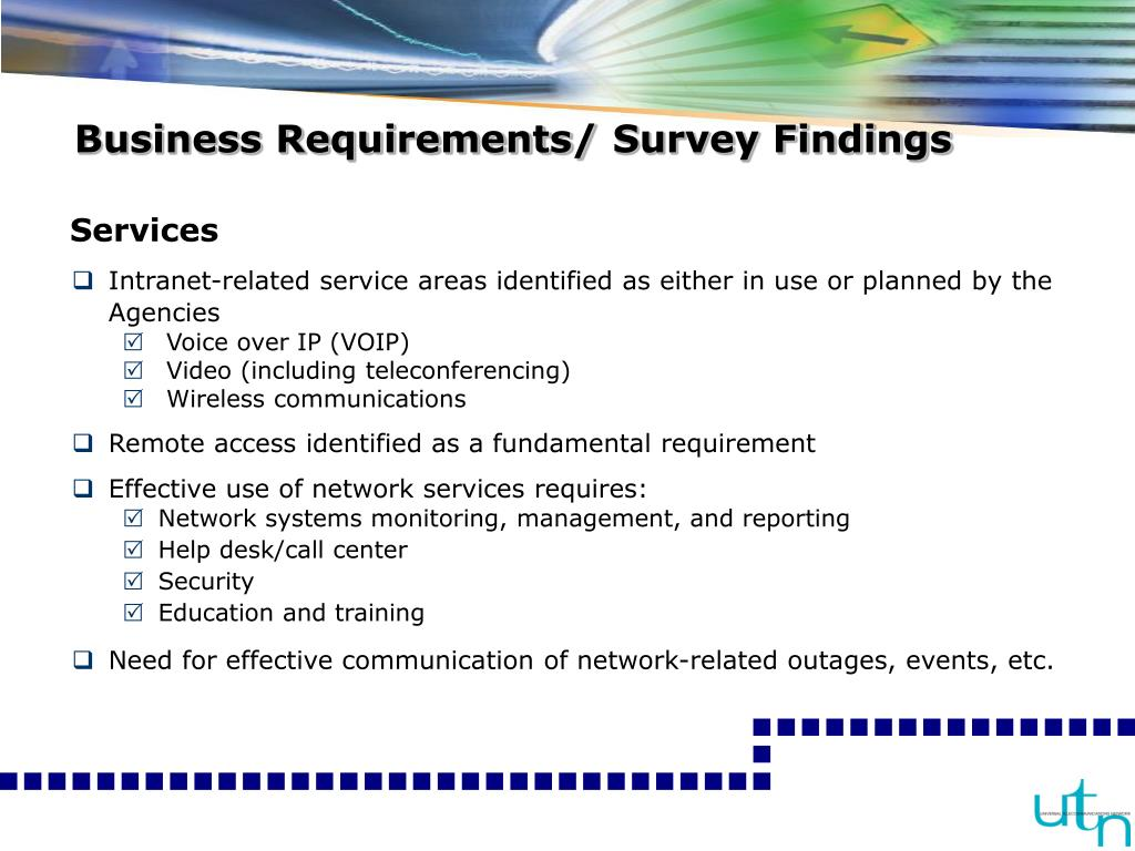Business Requirements/