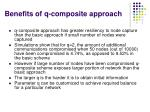 benefits of q composite approach