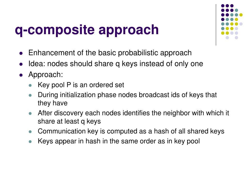 q-composite approach