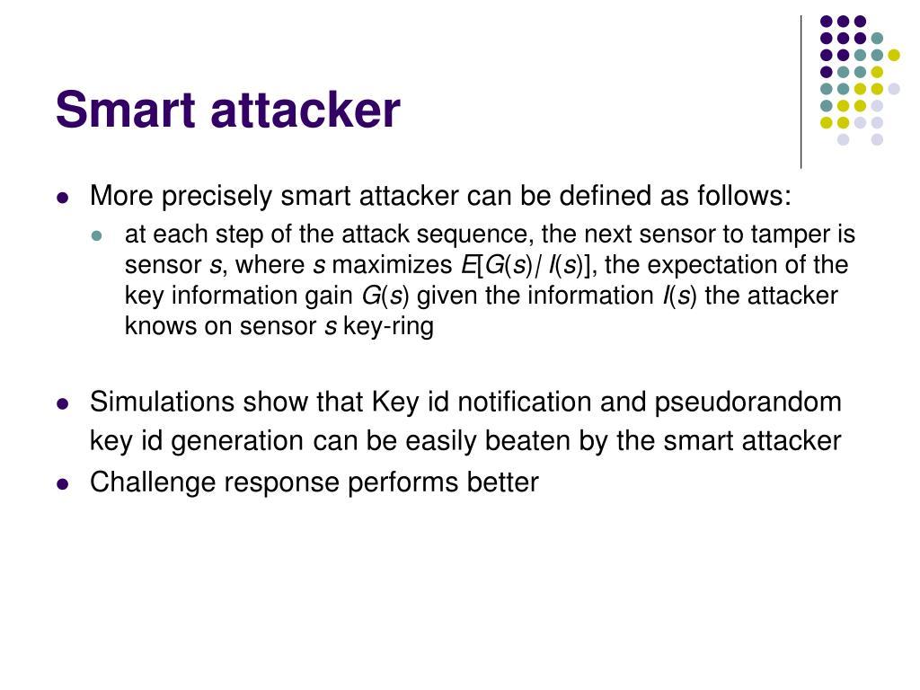 Smart attacker