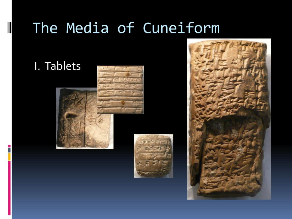 The Media of Cuneiform