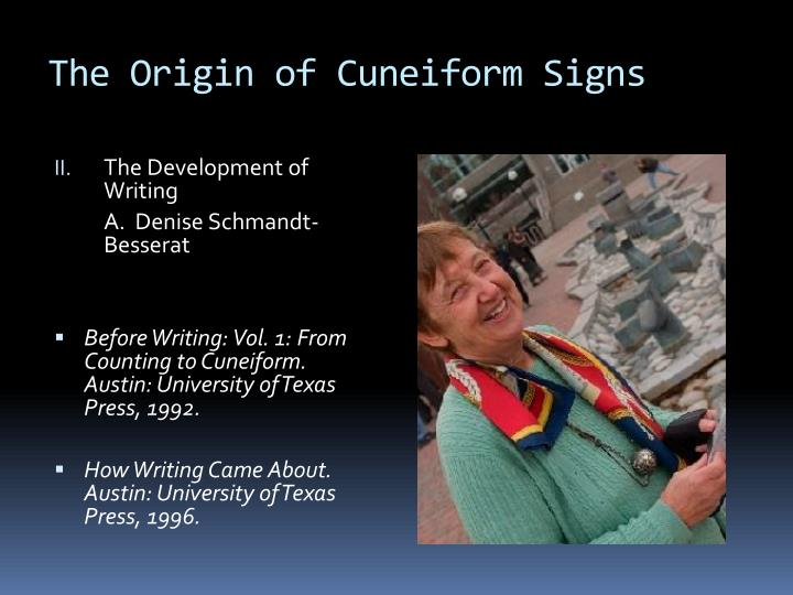 The origin of cuneiform signs3