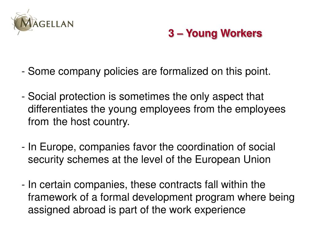 3 – Young Workers