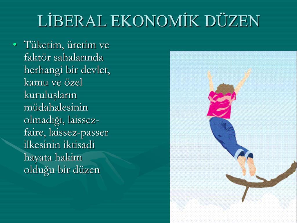 LİBERAL EKONOMİK DÜZEN