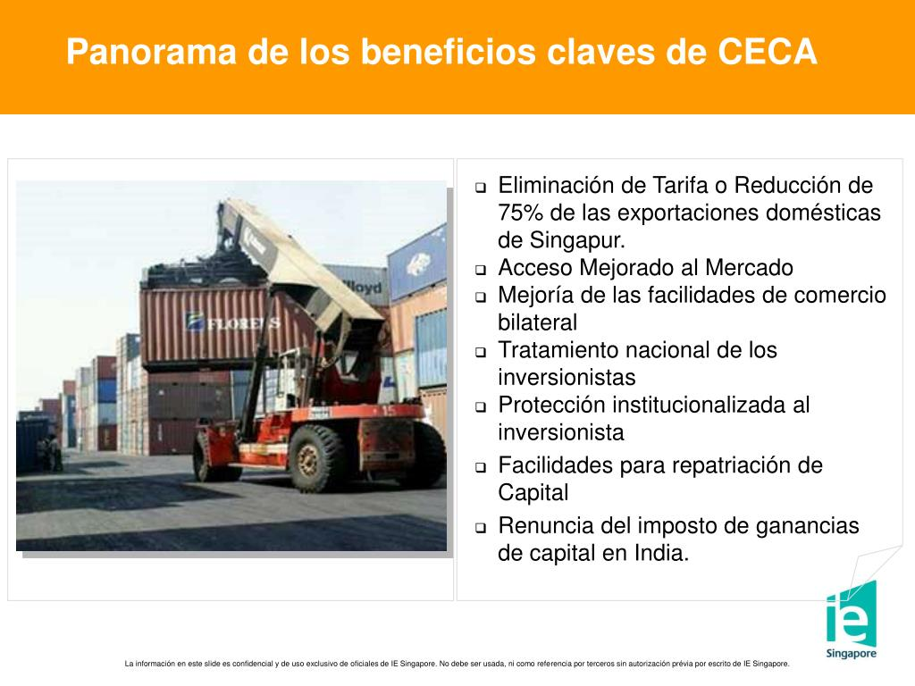 Panorama de los beneficios claves de CECA