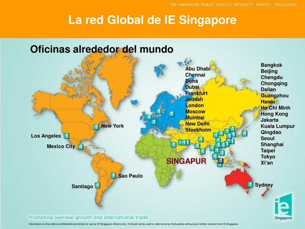 La red Global de IE Singapore