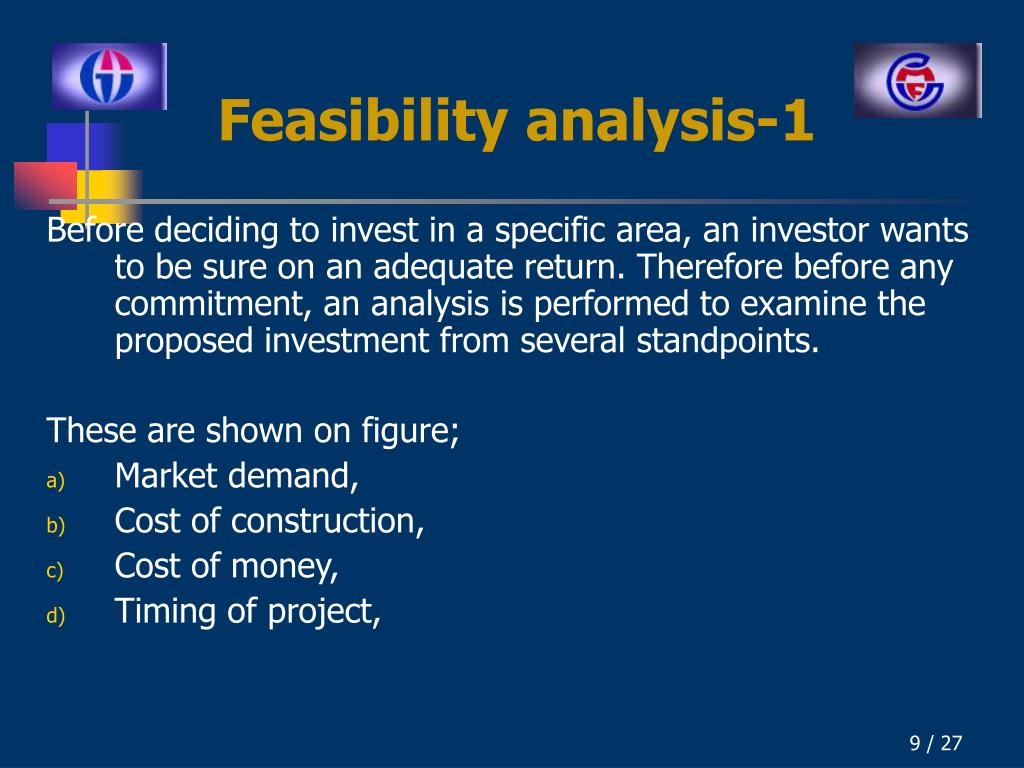 Feasibility analysis-1