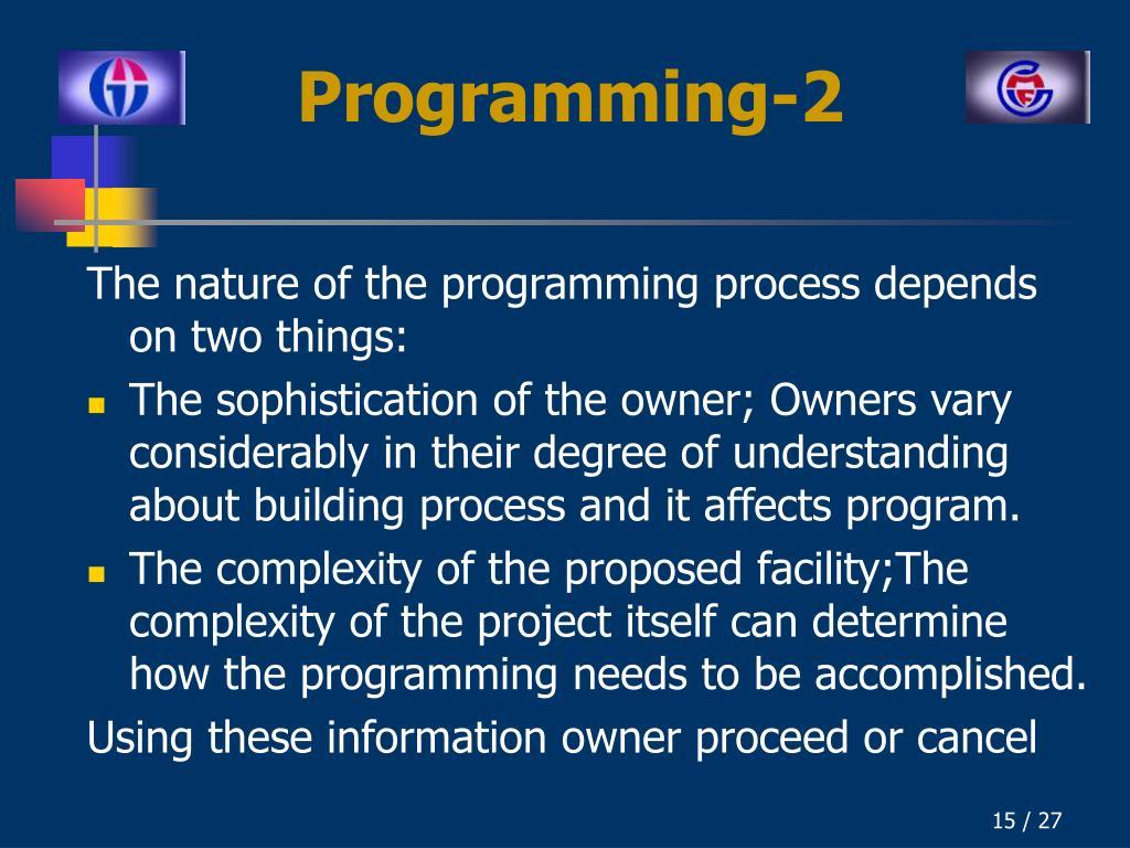 Programming-2