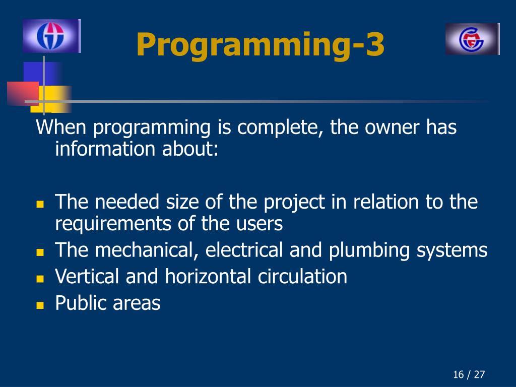 Programming-3