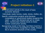 project initiation 1