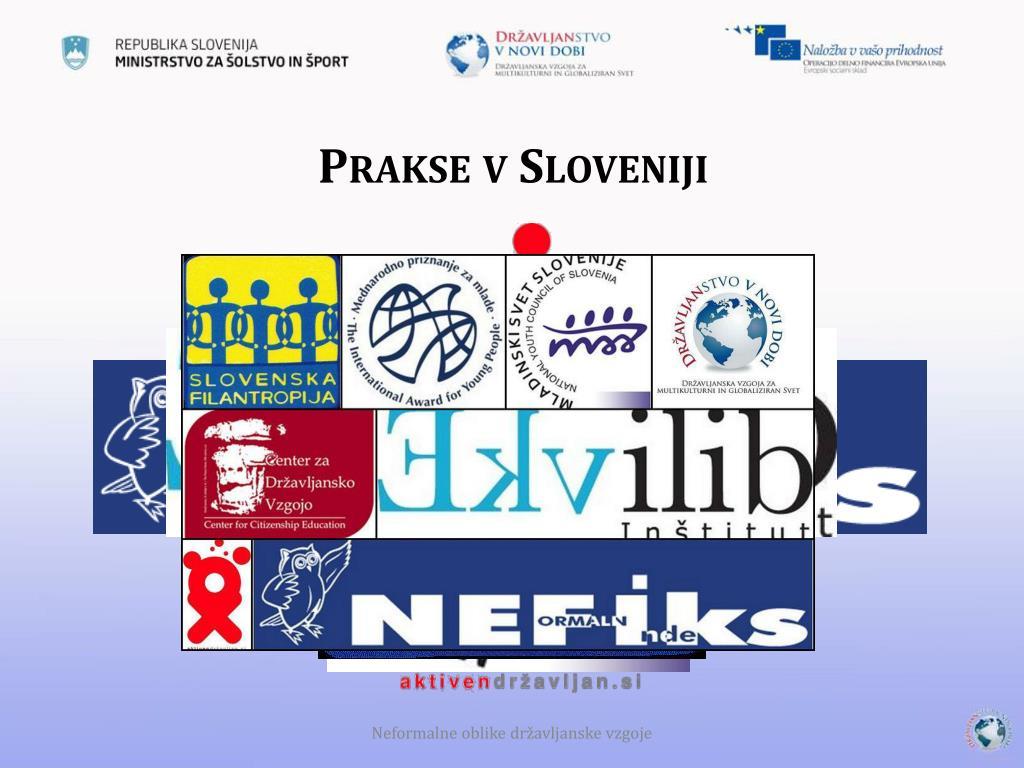 Prakse v Sloveniji