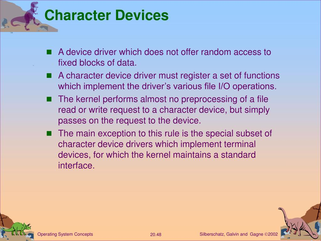 Character Devices