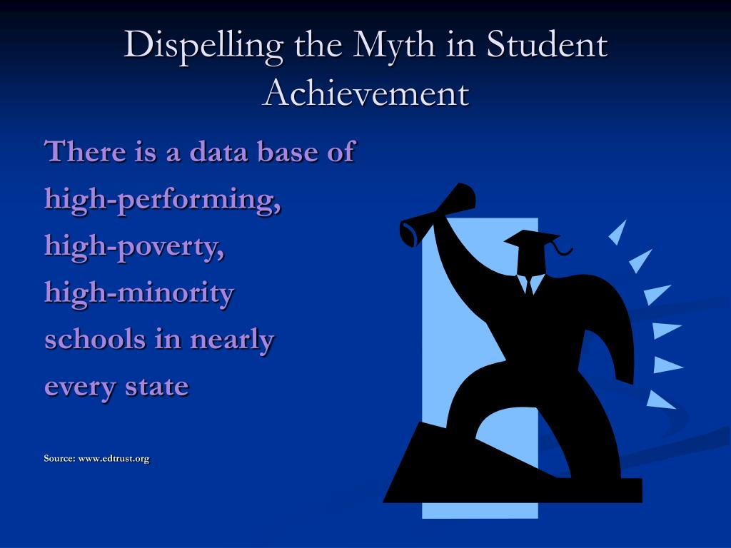 Dispelling the Myth in Student Achievement