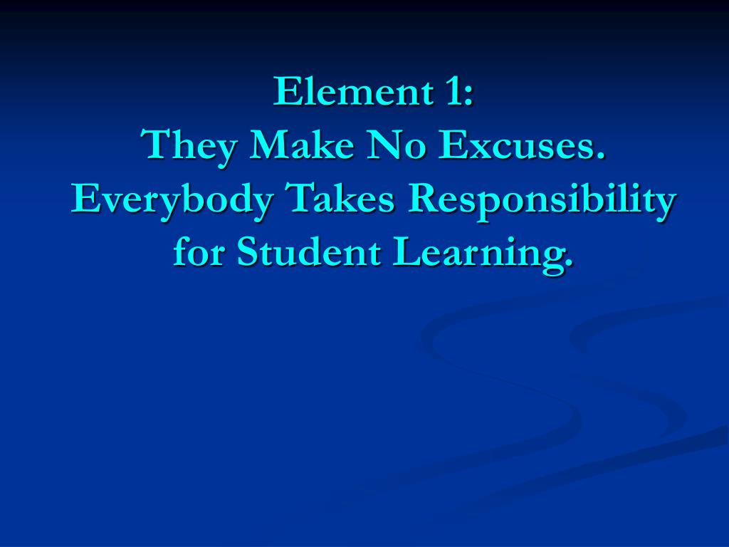Element 1: