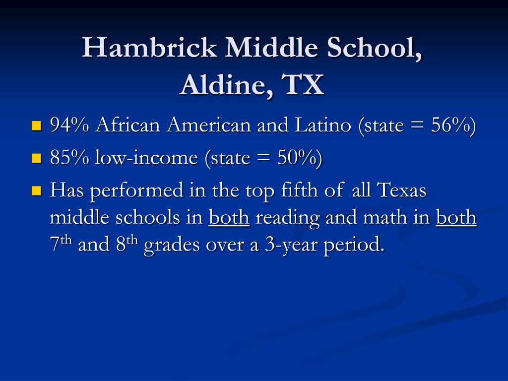 Hambrick Middle School,