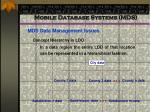 mobile database systems mds62