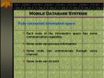 mobile database systems4