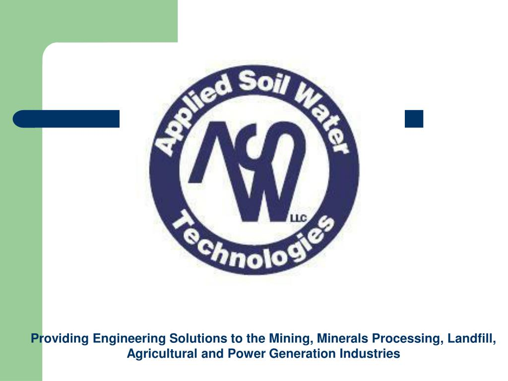 Providing Engineering Solutions to the Mining, Minerals Processing, Landfill, Agricultural and Power Generation Industries