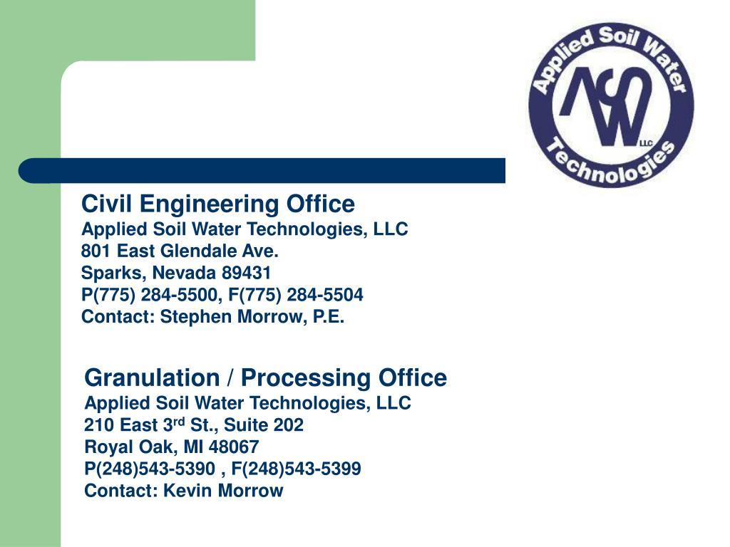 Civil Engineering Office