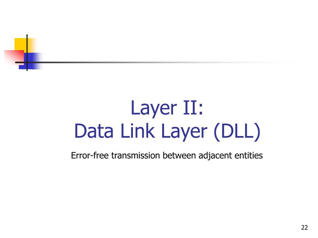 Layer II: