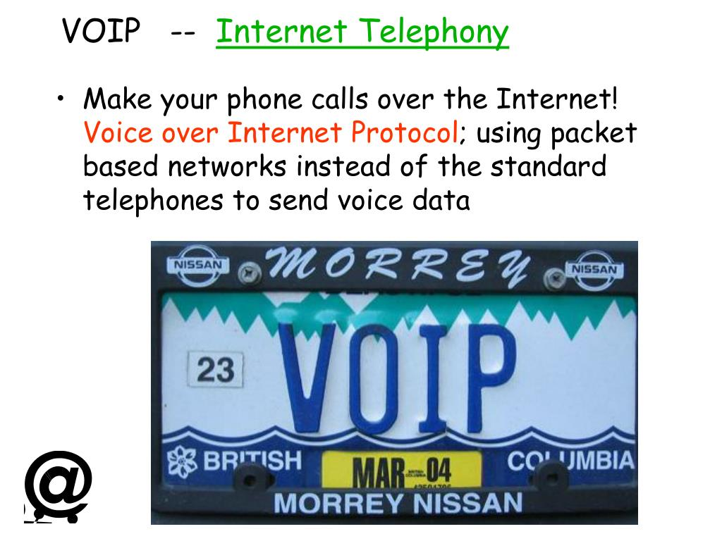 VOIP   --