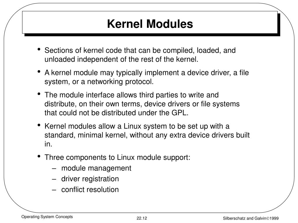Kernel Modules
