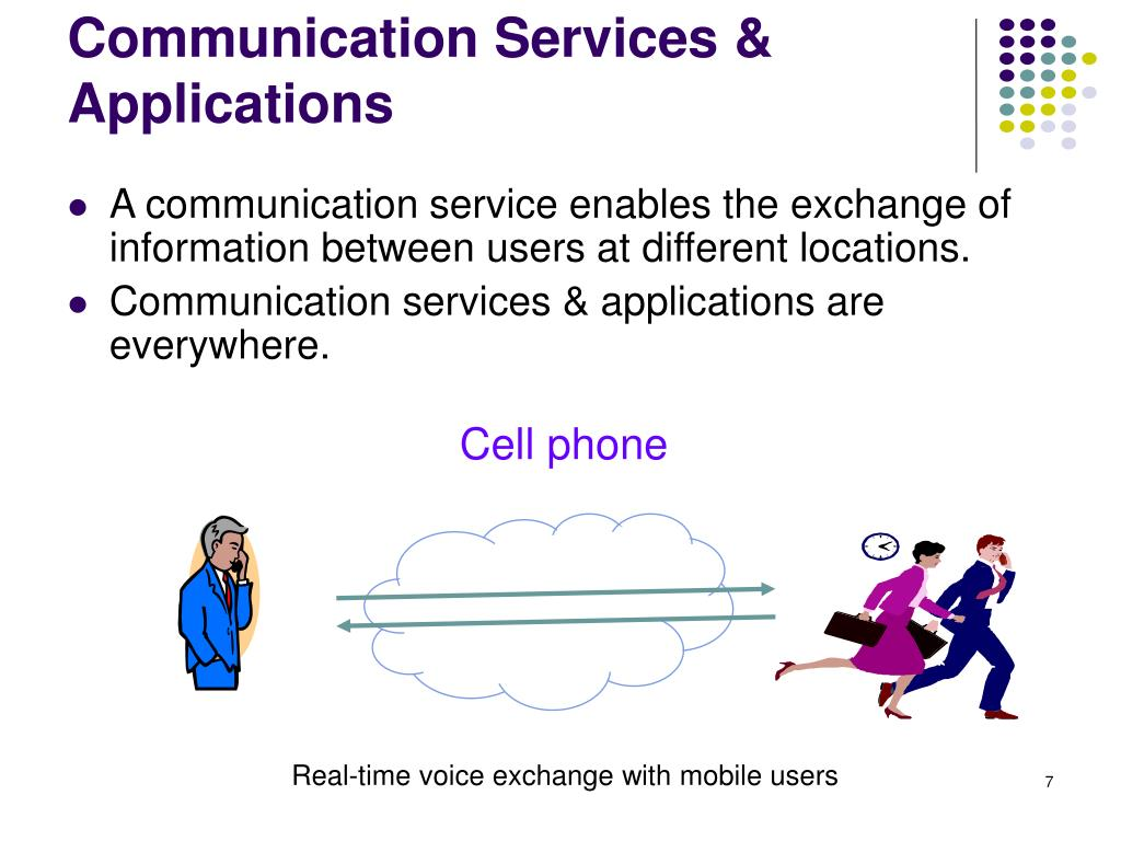 Communication Services & Applications