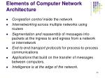 elements of computer network architecture65