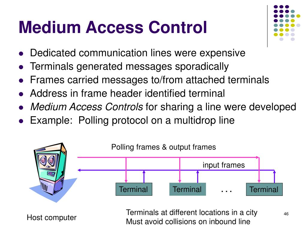 Polling frames & output frames