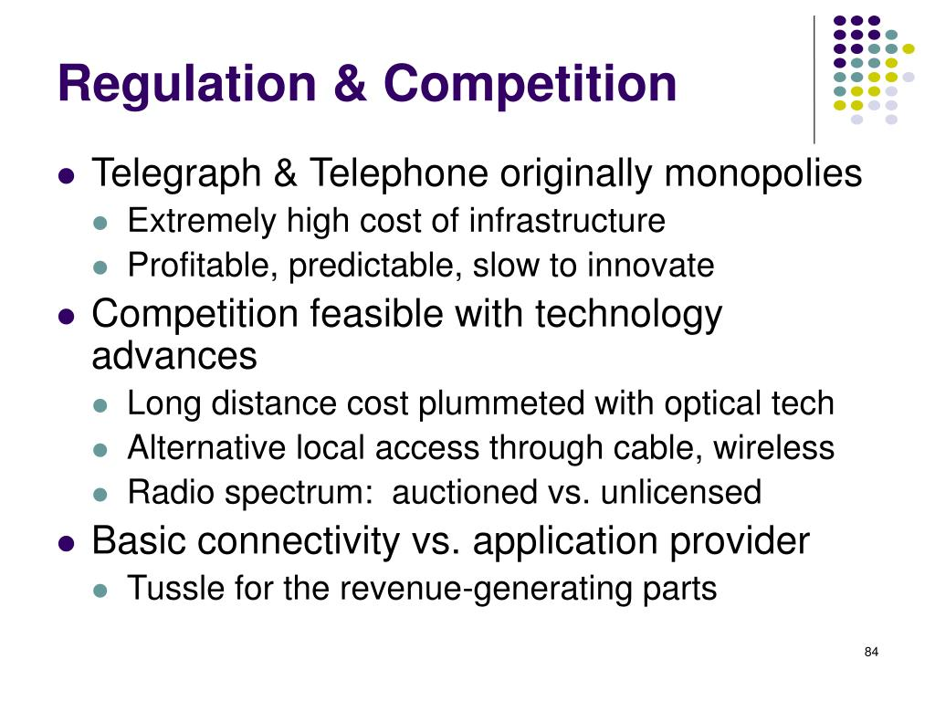 Regulation & Competition
