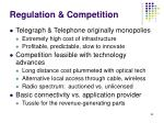regulation competition