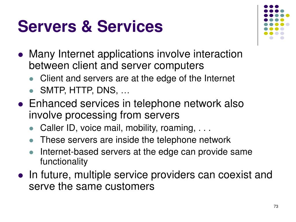 Servers & Services