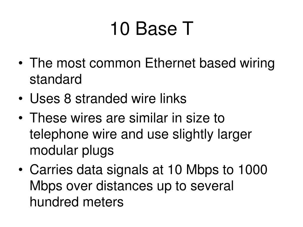 10 Base T