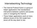internetworking technology