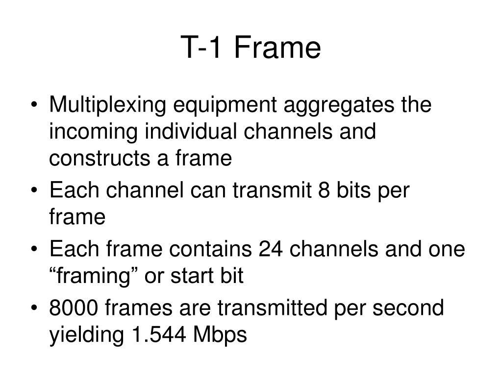 T-1 Frame