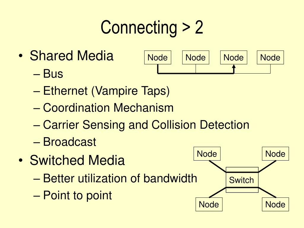 Connecting > 2