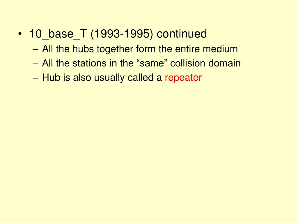10_base_T (1993-1995) continued