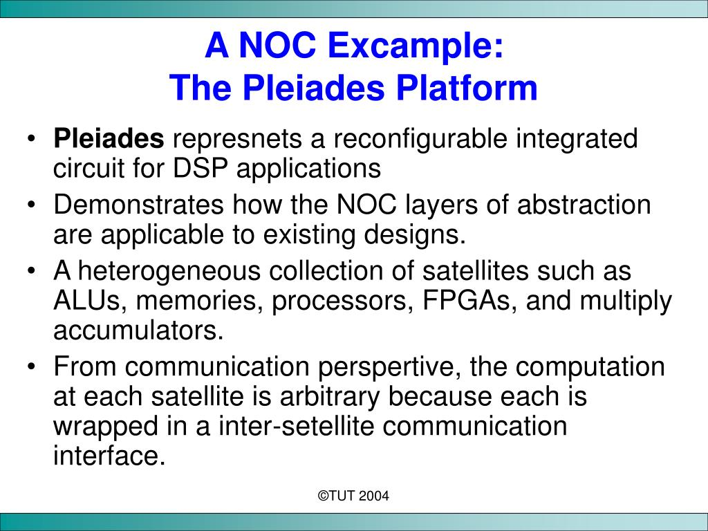 A NOC Excample: